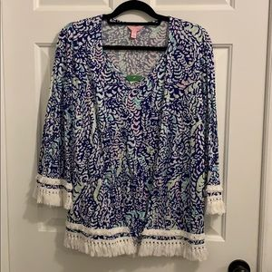 Lilly Pulitzer Gigi tank and cardigan set